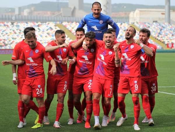 TFF 1. Lig: Altınordu: 3 - Tuzlaspor: 2