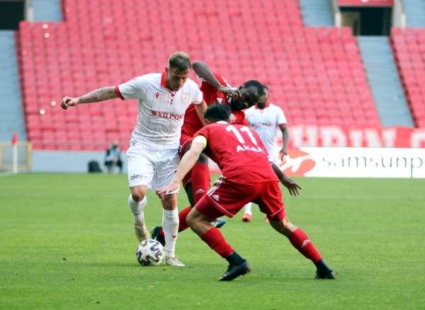 TFF 1. Lig: Samsunspor: 3 - Ankaraspor: 1