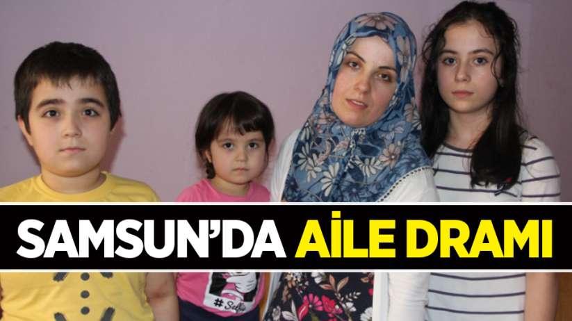 Samsun'da aile dramı