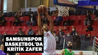 Samsunspor Basketbol'da Kritik Zafer
