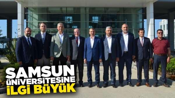 Samsun Üniversitesinde kontejyanlar doldu