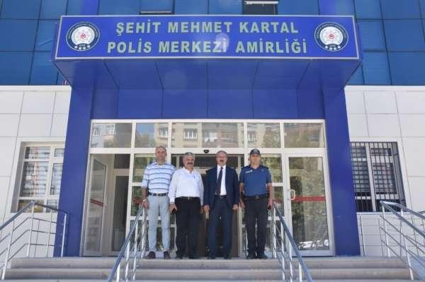 Şehit Mehmet Kartal Polis Merkezi yeni hizmet binasında