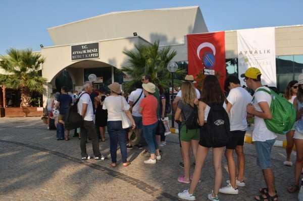 Türk tatilciler Kurban Bayramı'nda da Ege Adaları'ndan vazgeçemedi