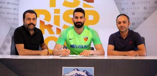 Kayserispor'da kaleci transferi