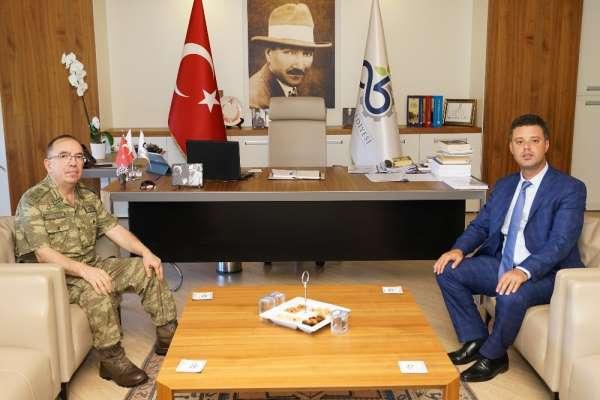 5. Kolordu Komutanı Tümgeneral Yüz'den veda ziyaretleri