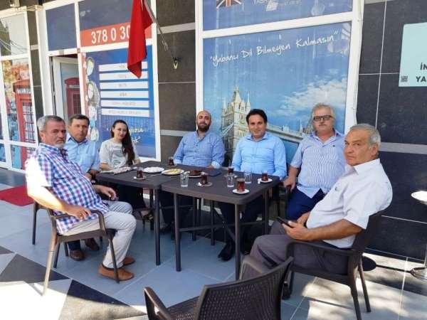 Kaymakam Görgülüarslan'dan MİSİAD'a iade-i ziyaret