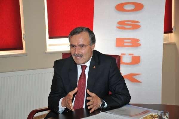 OSBÜK Başkanı Kütükcü: 'Hedeflerimize doğru güçlü bir şekilde yürümeye devam ede