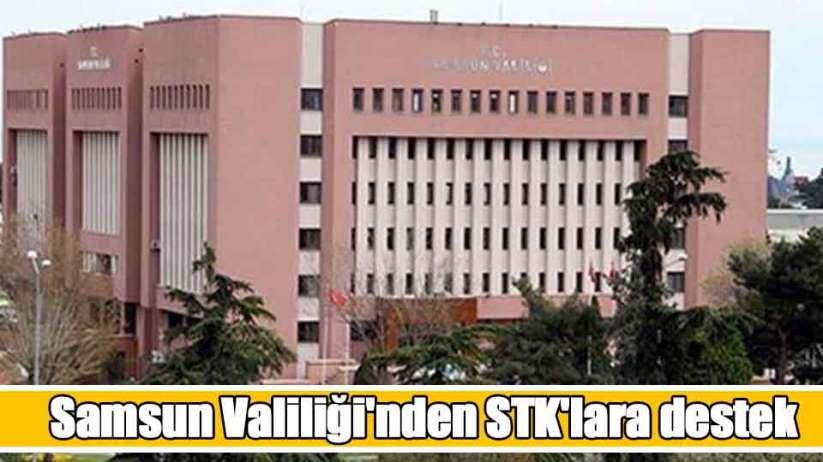 Samsun Valiliği'nden STK'lara destek