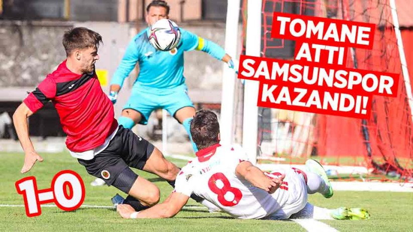Gençlerbirliği-Yılport Samsunspor: 0-1
