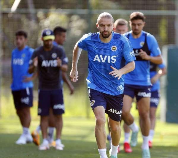 Fenerbahçede hazırlıklar devam etti
