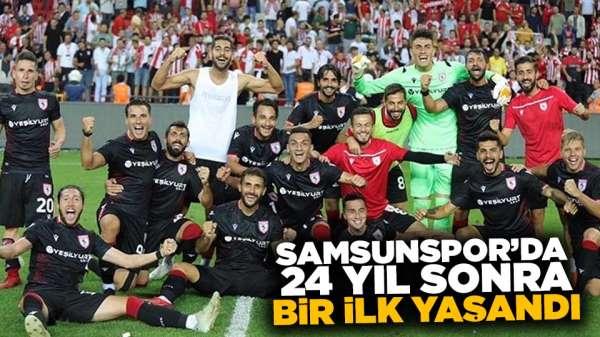 Samsunspor'da 24 Yıl Sonra Bir İlk Yaşandı