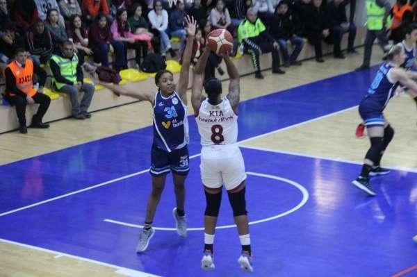 Kadınlar Basketbol Süper Ligi: Elazığ İl Özel İdare: 69 - İzmit Belediyespor: 87