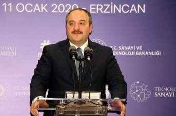 Sanayi ve Teknoloji Bakanı Varank, Erzincan'da