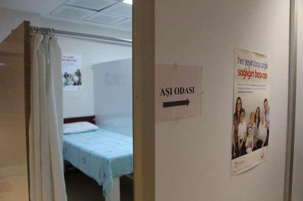 Amasya'da sağlık tesislerinde Kovid-19 aşı uygulama noktaları hazırlandı
