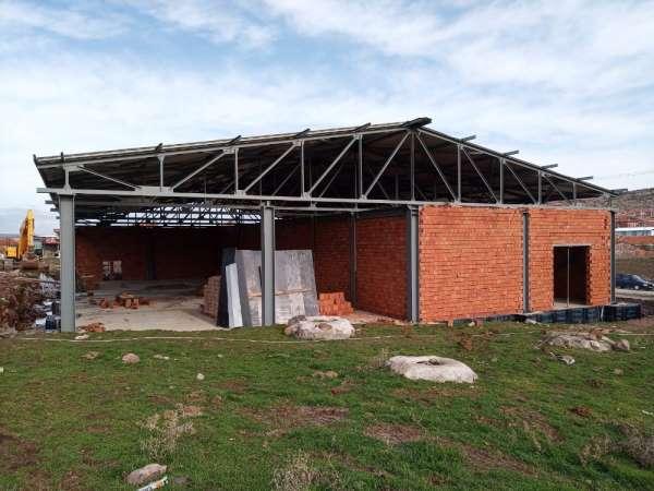 Pelitalan Kırsal Kalkınma Merkezi'nde çalışmalar sürüyor