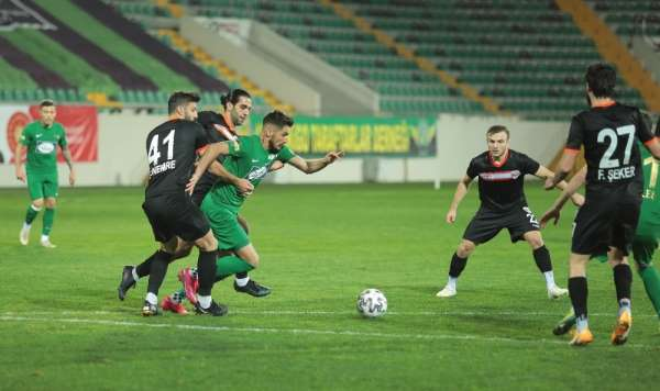 TFF 1. Lig: Akhisarspor: 0 - Adanaspor: 1