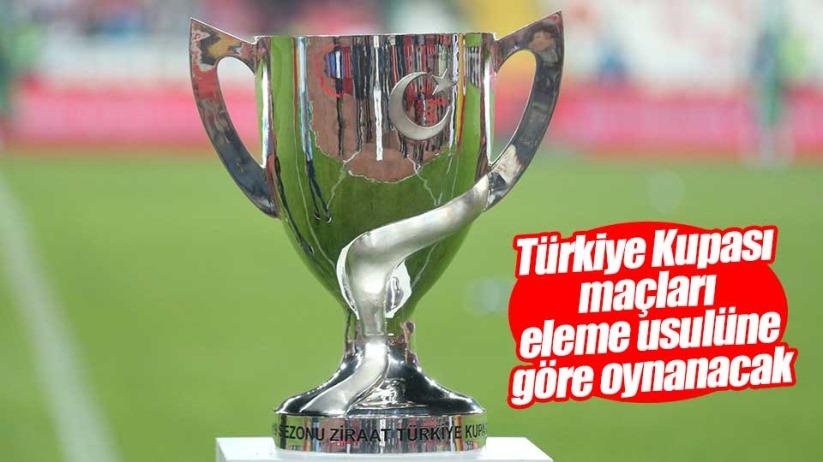 TFFden son dakika Türkiye Kupası maçları açıklaması