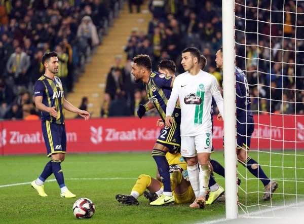 Ziraat Türkiye Kupası: Fenerbahçe: 1 - Kırklarelispor: 0 (Maç sonucu)