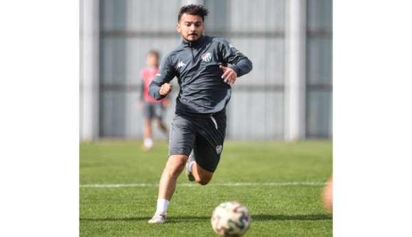 Bursasporda Tuzlaspor maçı hazırlıkları devam ediyor