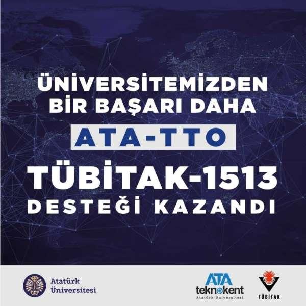 Atatürk Üniversitesi Teknoloji Transfer Ofisi, Tübitak-1513 desteği kazandı