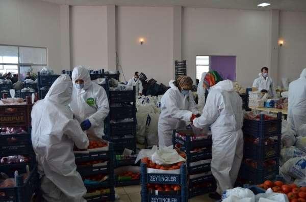 Belediyeden vatandaşlara gıda yardımı