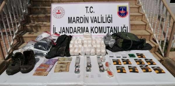 Mardin'de teröristlerin bombalı eylem hazırlığını MİT ve jandarma önledi