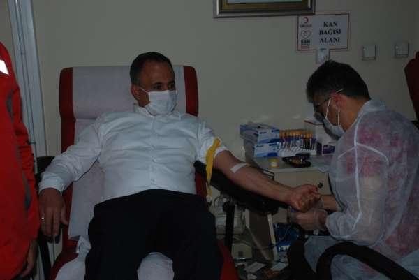 Tokat'ta 'İyilik Kanımızda Var' kampanyasına destek