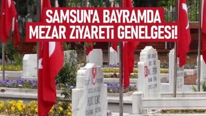 Samsun'a bayramda mezar ziyareti genelgesi!