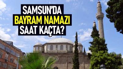Samsun'da bayram namazı saat kaçta 2021? Samsun'da Ramazan Bayram namazı saati 2021