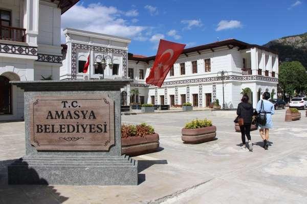 Amasya Belediyesi binası beş yıldızlı otel olacak