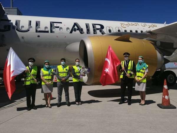 Bahreynli havayolu şirketinden İstanbula 14 ay sonra ilk uçuş