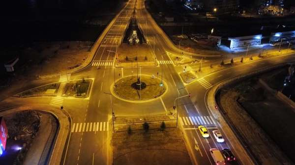 Başkent EDAŞ Kozlu Kavşağını aydınlattı