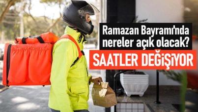 Ramazan Bayramı'nda nereler açık olacak?