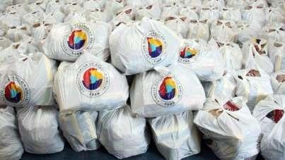 Pandemide işyerleri kapanan esnafa gıda yardımı