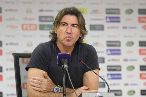 Ricardo Sa Pinto: Maçın hakkı beraberlikti, ikinci yarı çok iyi oynadık