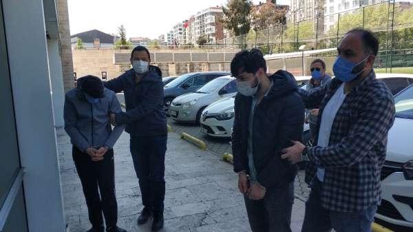 Samsunda kardeşler uyuşturucu ticaretinden gözaltına alındı