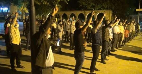 Şanlıurfada İsrailin Mescid-i Aksaya saldırıları protesto edildi