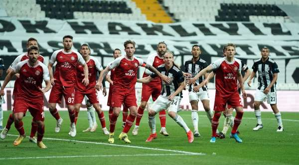 Süper Lig: Beşiktaş: 1 - Fatih Karagümrük: 2