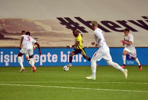 Süper Lig: Fenerbahçe: 0 - Sivasspor: 0