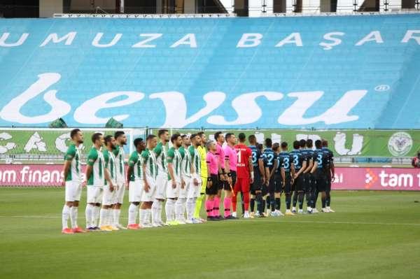 Süper Lig: Konyaspor: 0 - Trabzonspor: 0