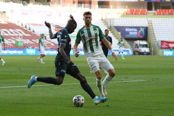 Süper Lig: Konyaspor: 1 - Trabzonspor: 1