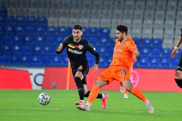 Süper Lig: Medipol Başakşehir: 0 - Kayserispor: 0