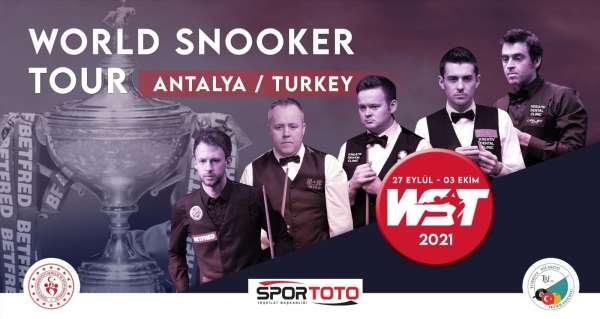 World Snooker Tour, Türkiyede düzenlenecek