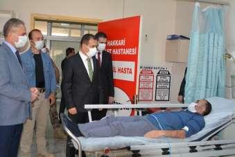Kızılay Şube Başkanı kazada yaralandı