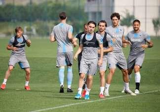 Trabzonspor, Göztepe maçı hazırlıklarını tamamladı