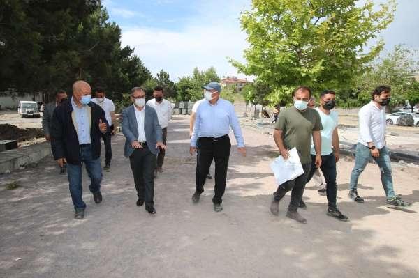 15 Temmuz Şehitler Parkında hummalı çalışma