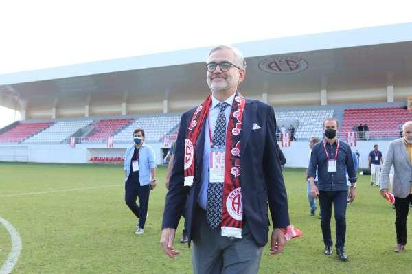 Antalyaspor Kulübü Derneğinin yeni başkanı Hesapçıoğlu oldu