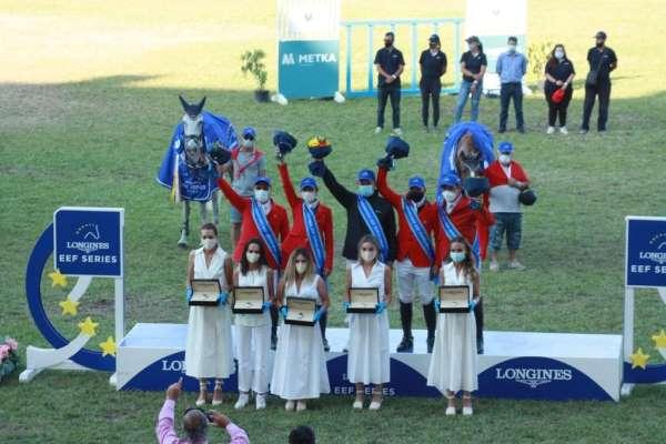 Atina Longines EEF Milletler Kupasında zafer Türkiyenin