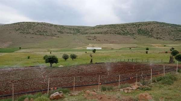 Bingölde kabul edilen 18 projeyle 530 dekar alan sulanacak