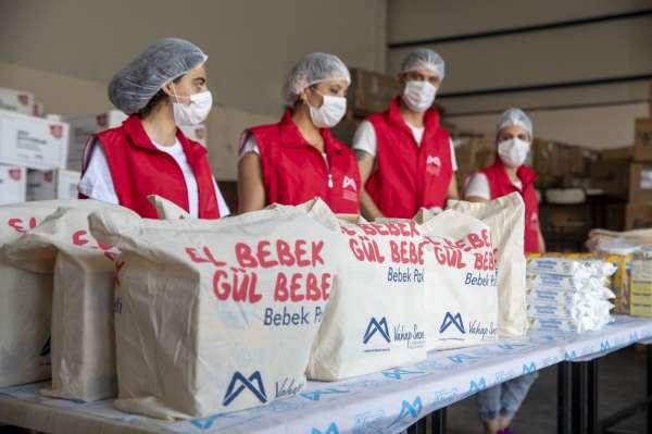 Büyükşehir Belediyesinin dağıttığı bebek paketi 15 bin 265e ulaştı